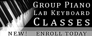 "New! Group Piano Lab keyboard Classes ""I Can Play Piano"" Enroll Today!"